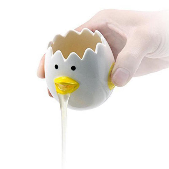 Cute Ceramic Egg White Separator