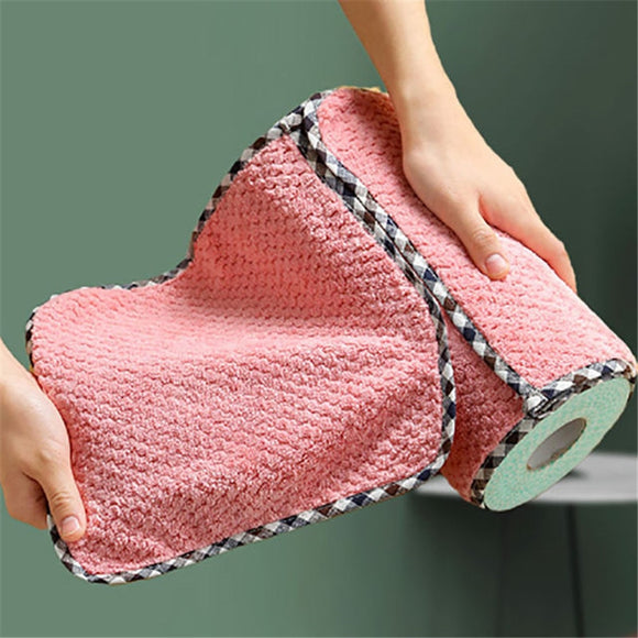 Non Linting Hangable Double Sided Rag