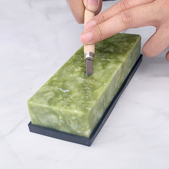 Green Agate Sharpening Stone