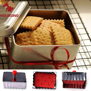 1Pc Square Biscuit Cookie Cutter