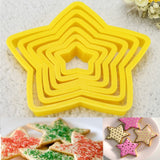 6 Pcs Christmas Tree Cookie Cutter
