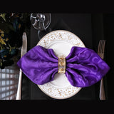 "10pcs/lot Polyester 19 "" Square Table Cloth Napkins"