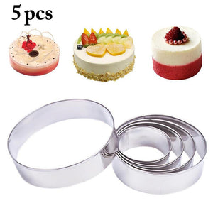 5PCS Mini Mousse Rings