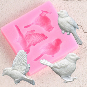 Birds Silicone Mold