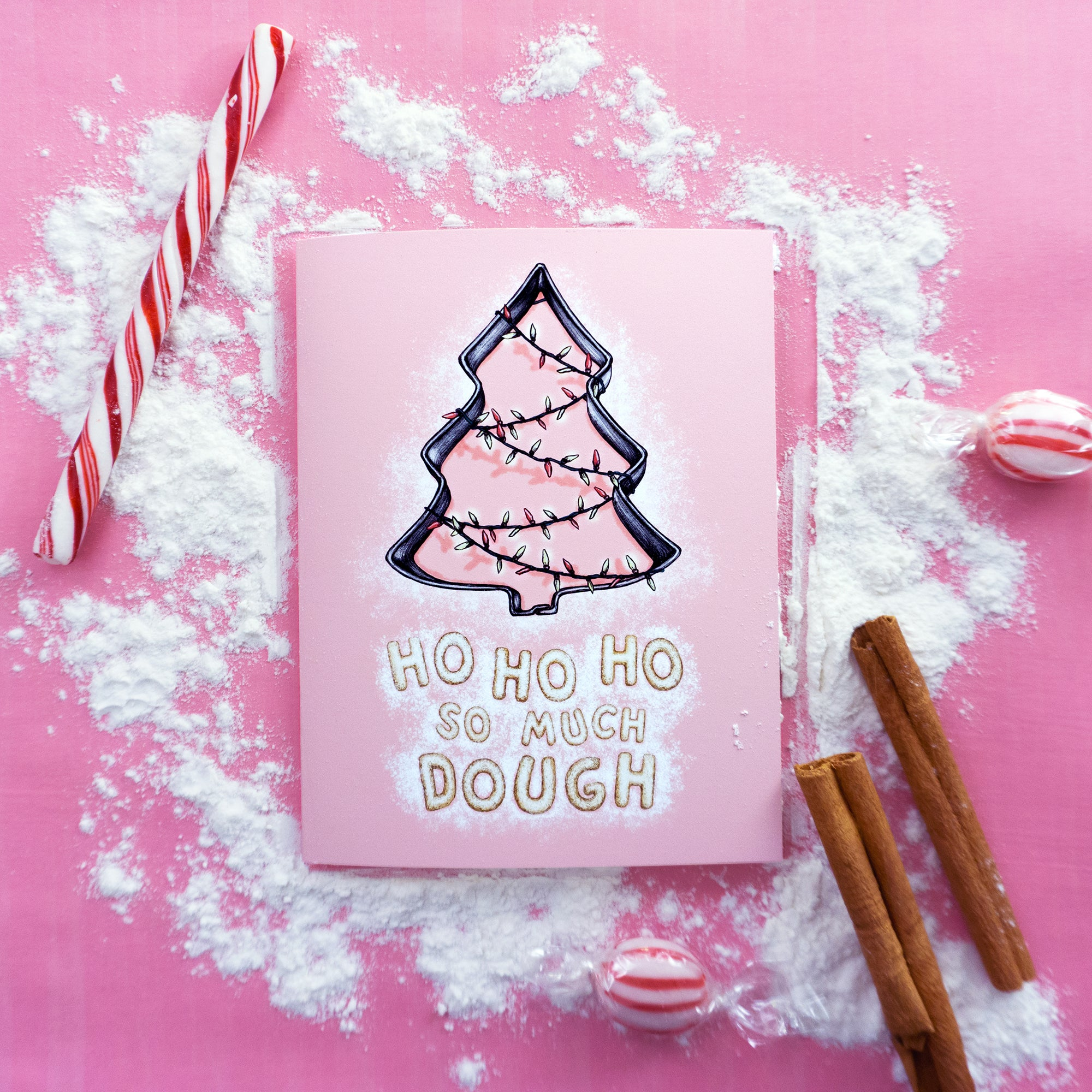 Ho Ho Ho So Much Dough - Christmas Card