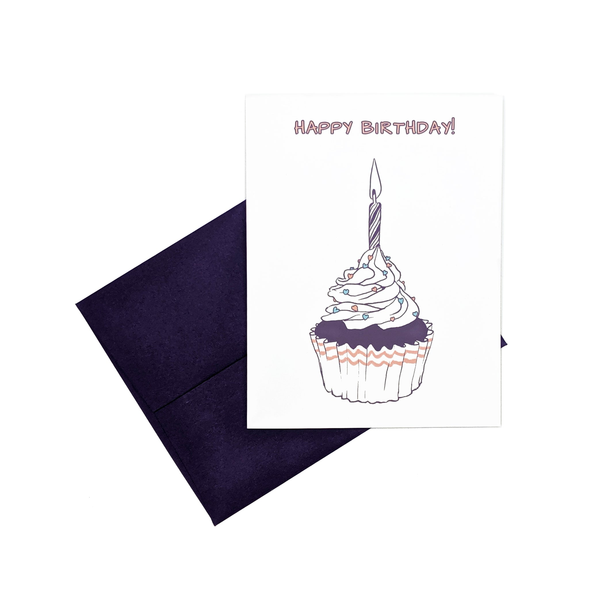 Cupcake - Birthday Card