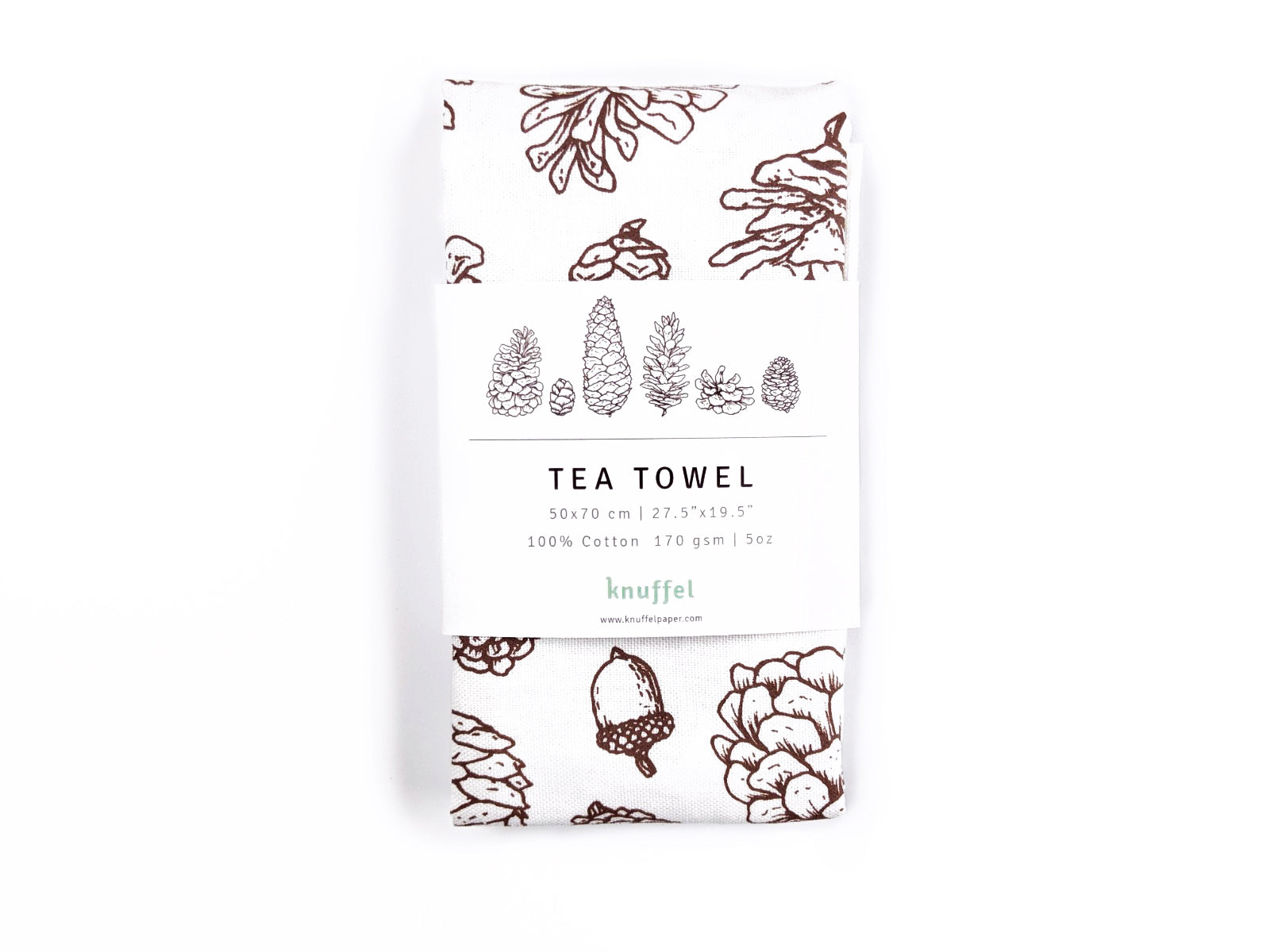 Pine cones - Tea Towel
