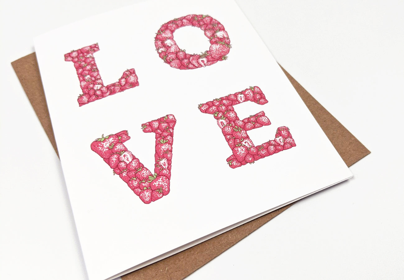LOVE - greeting card