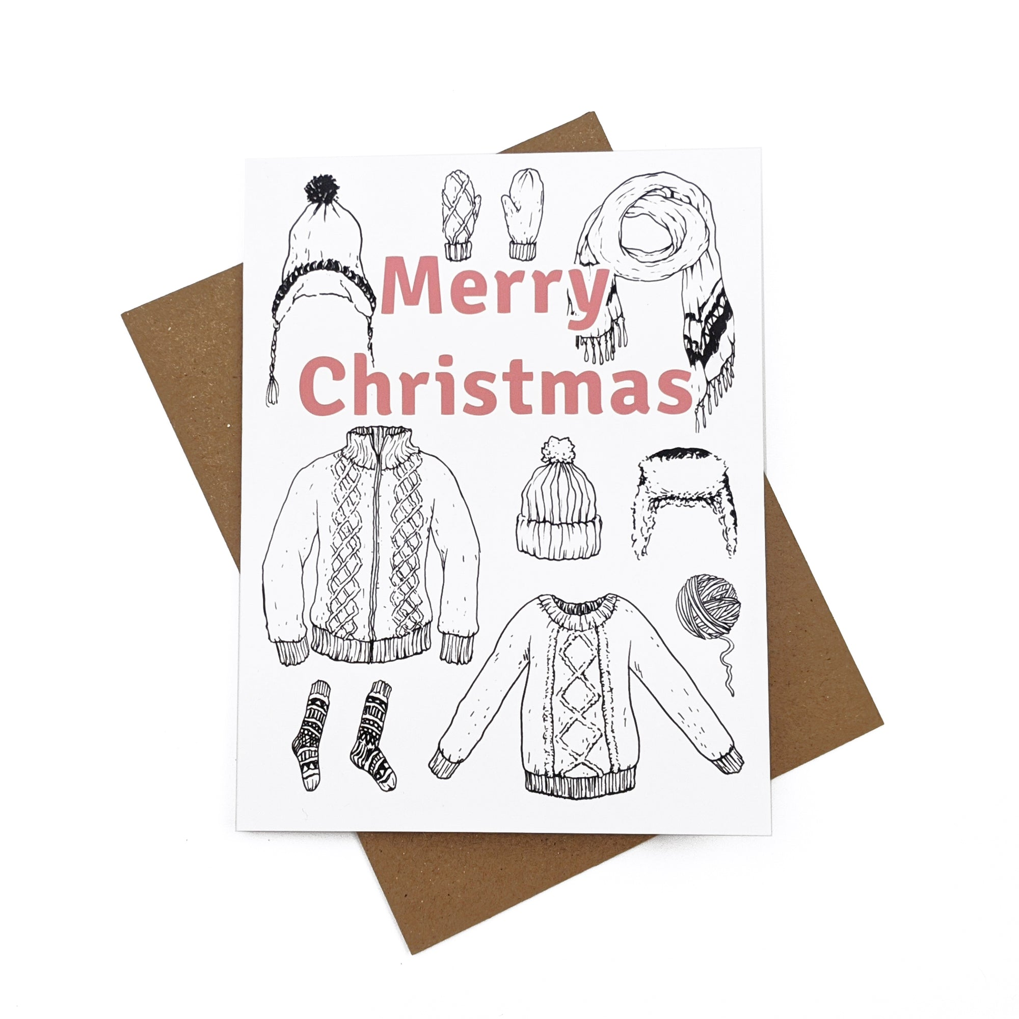 Merry Christmas - Greeting Card