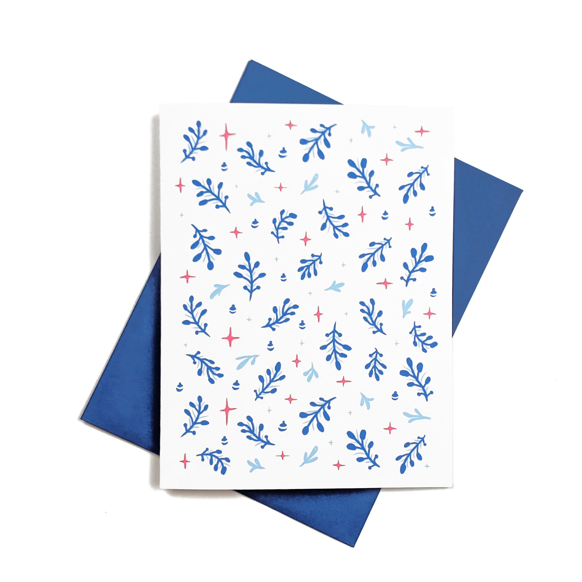 Christmas pattern - Holidays greeting Card