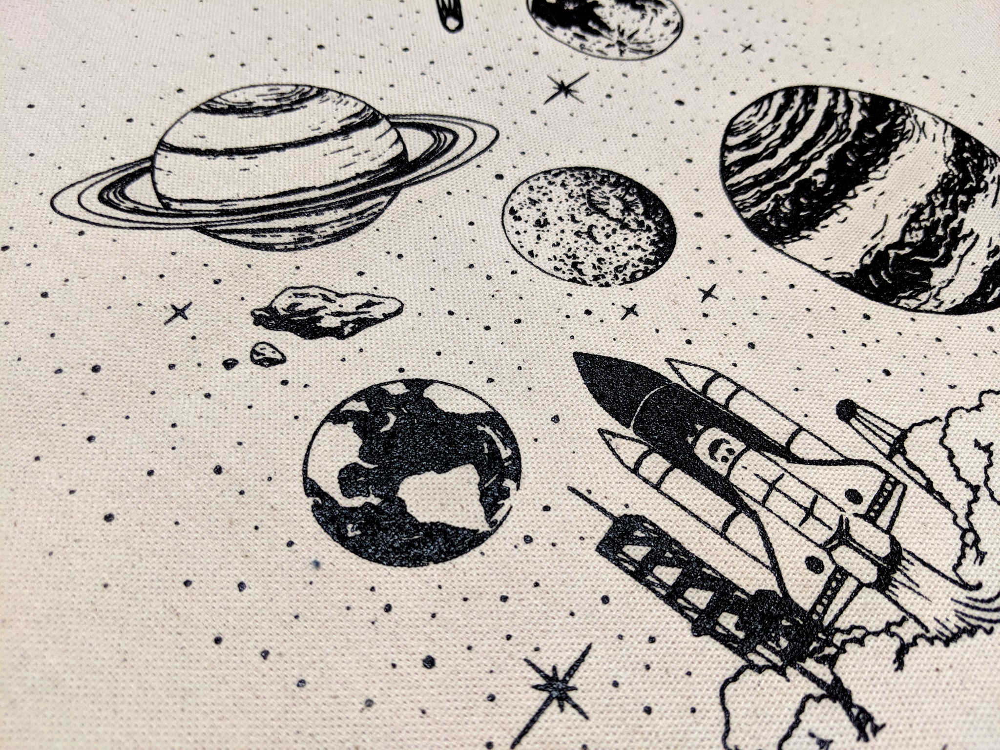 SPACE TRAVELER - Tote Bag