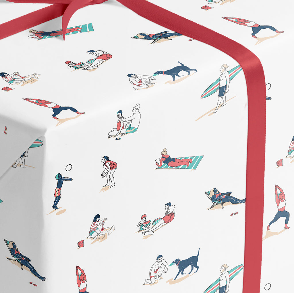 Summer Born - wrapping paper