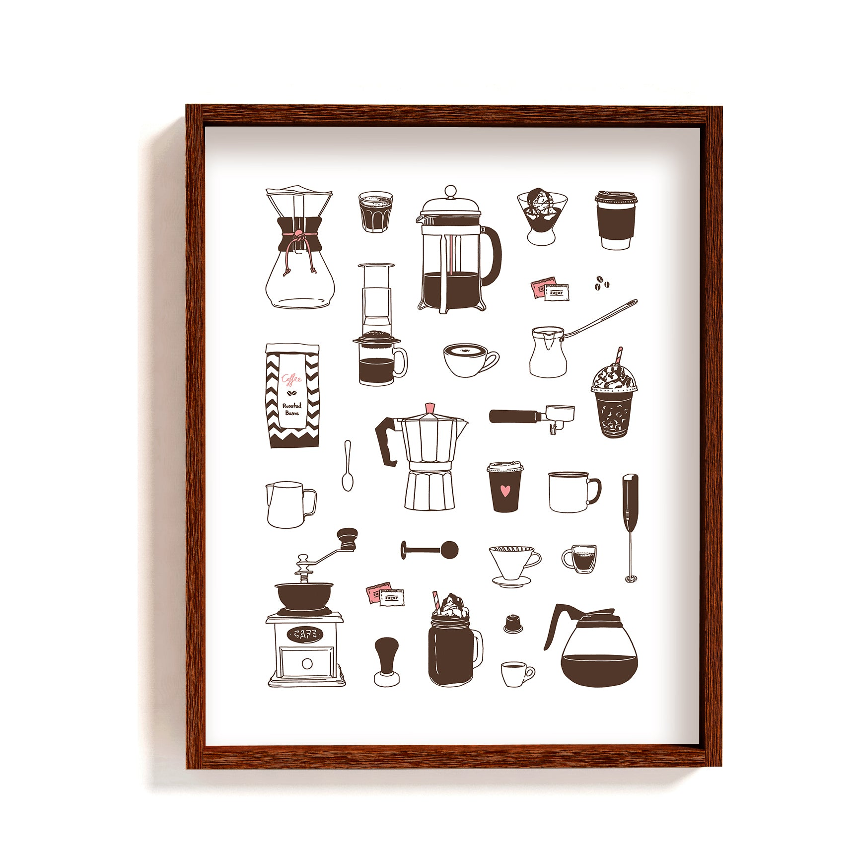 Coffee - Art Print