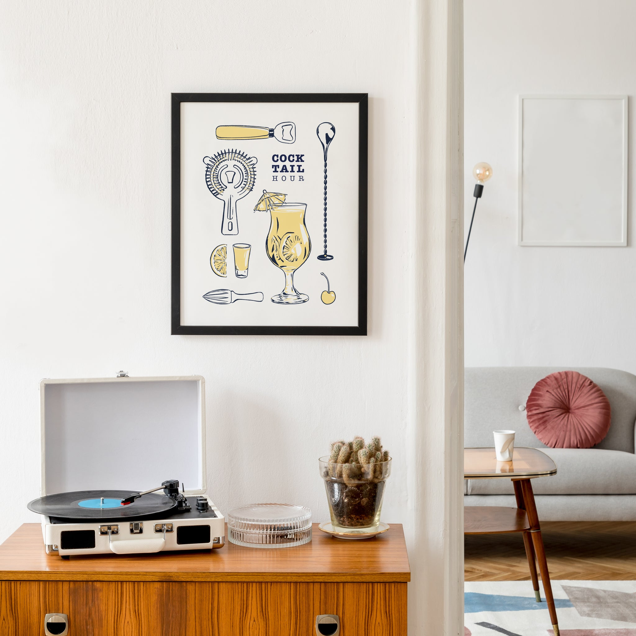 Cocktail Hour - Art Print