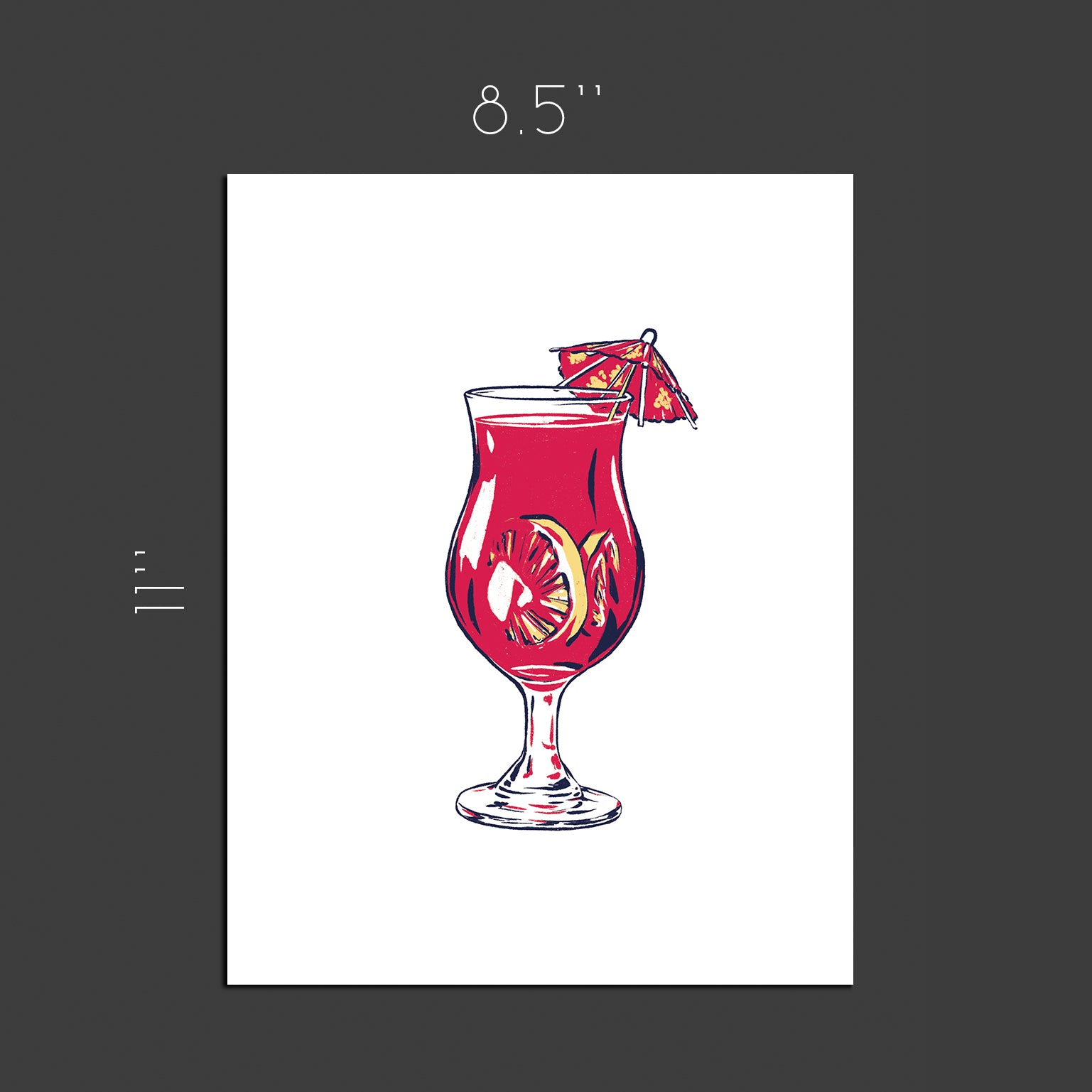 Sex on the beach cocktail - Art print