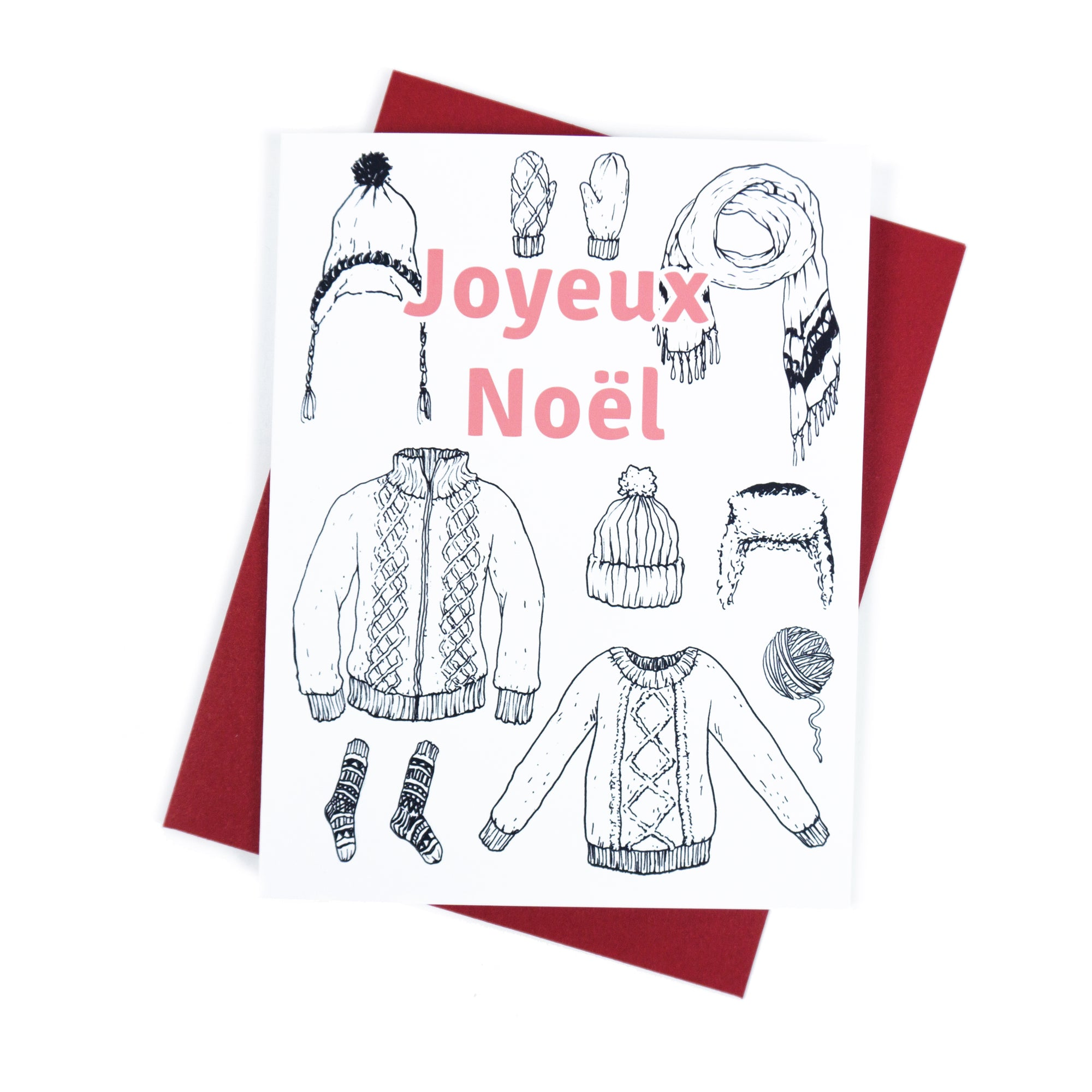 Joyeux Noël - Greeting Card