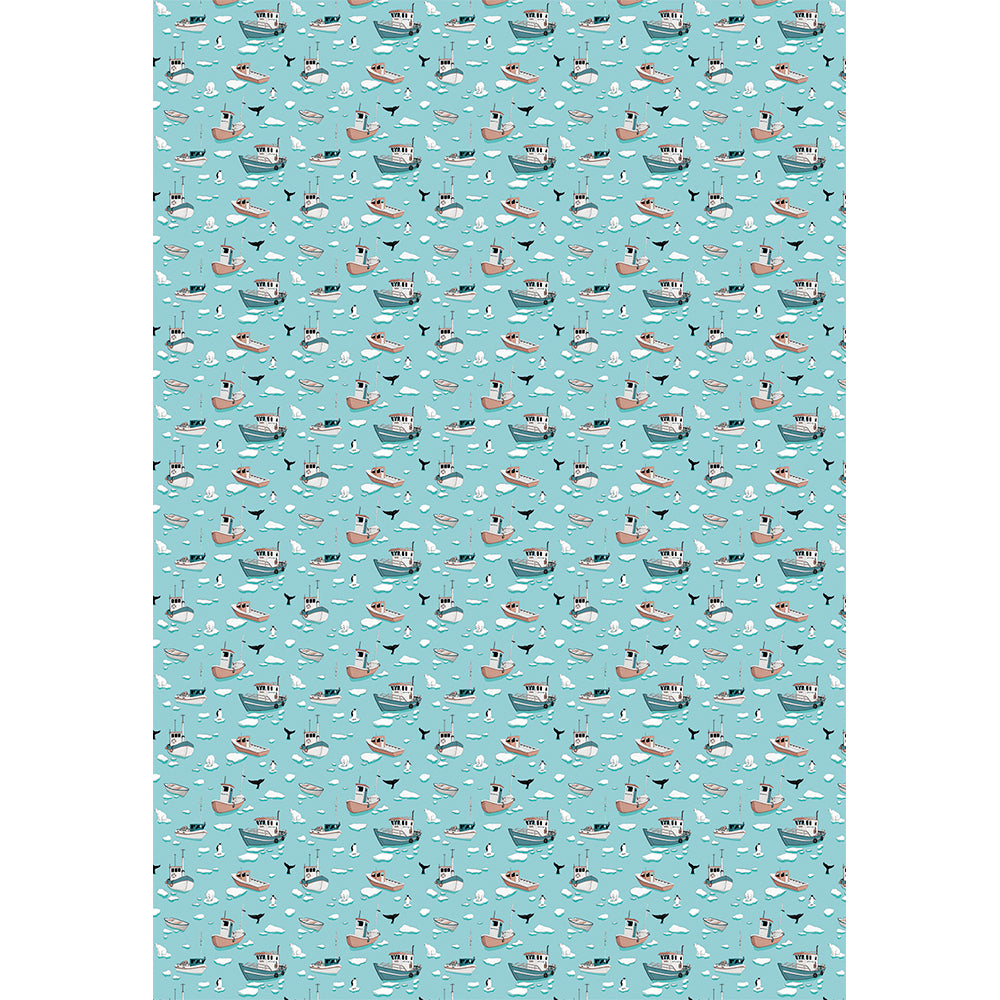 ARCTIC LIFE - wrapping paper