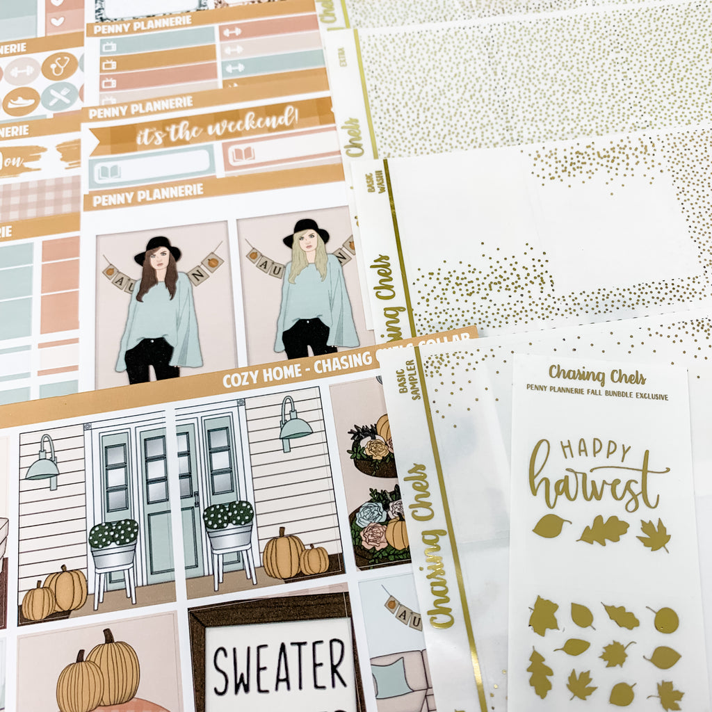 EXCLUSIVE FALL ART Penny Plannerie Collab Bundle