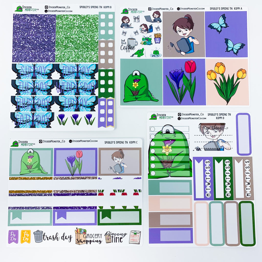 Unassembled 25 Day Advent Bundle -REVEALED- EXCLUSIVE ART Kit