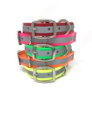 "Reflective 1"" or 3/4"" Standard Collar"