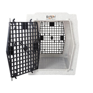Ruff Land Kennels Intermediate Double Door Dog Kennel