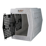 Ruff Land Kennels Intermediate Double Door Left Side Entry Kennel