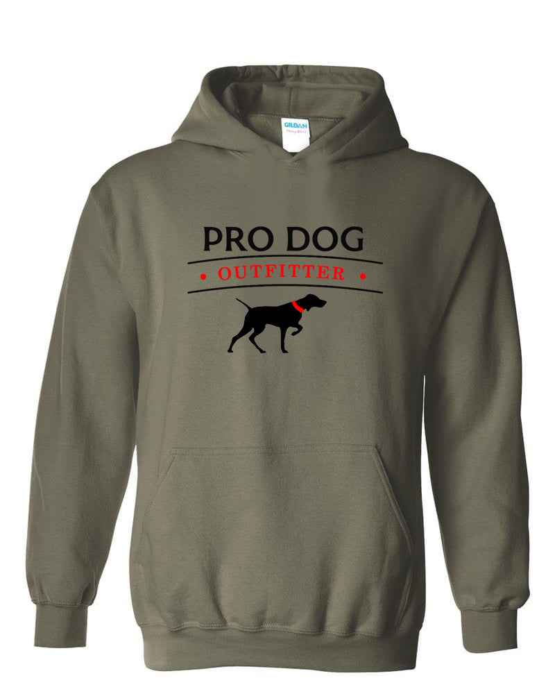 PRO DOG OUTFITTER GREEN HOODIE