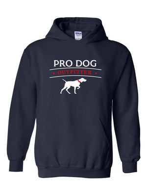 PRO DOG OUTFITTER NAVY HOODIE