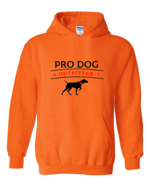 PRO DOG OUTFITTER ORANGE HOODIE
