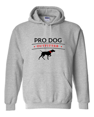PRO DOG OUTFITTER GREY HOODIE