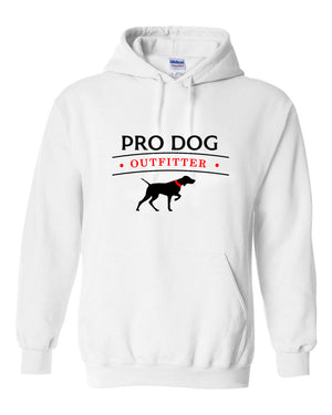 PRO DOG OUTFITTER WHITE HOODIE