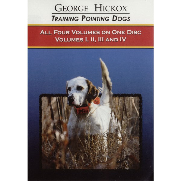 George Hickox: Training Pointing Dogs (DVD)