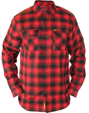 DEVIL DOG ANNIVERSARY FLANNEL