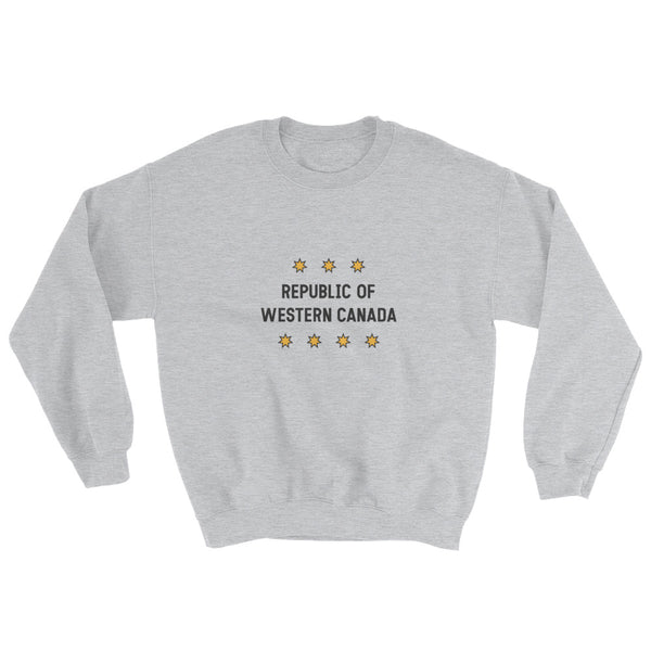 Republic of Western Canada Sweatshirt