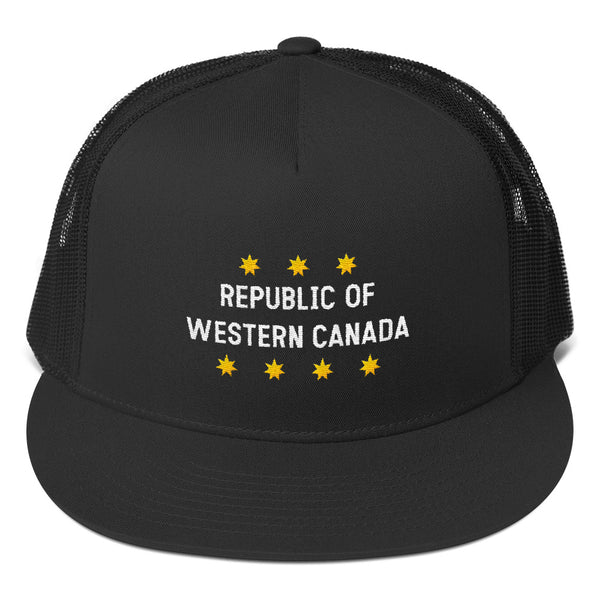 Republic of Western Canada Trucker Cap