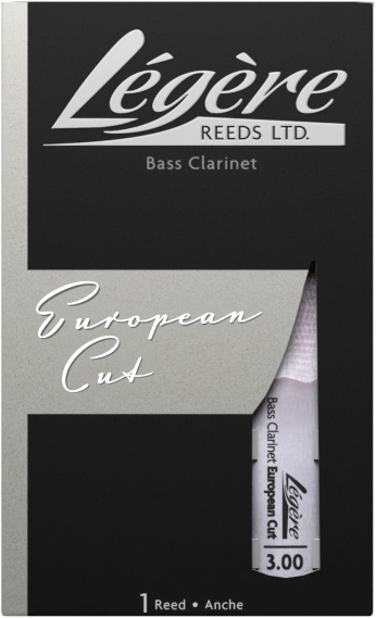 Legere European Cut Bass Clarinet Reed