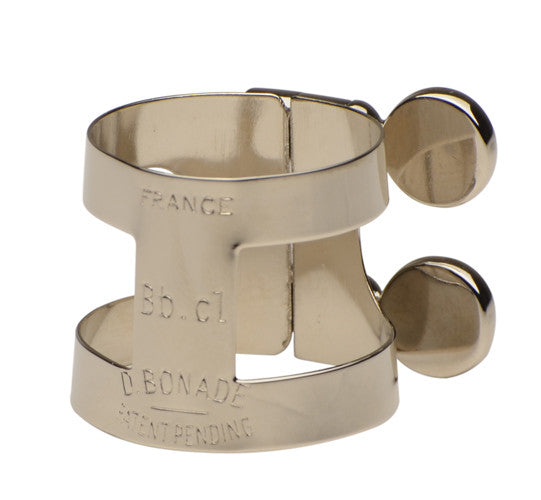 Bonade Inverted Nickel Eb Clarinet Ligature