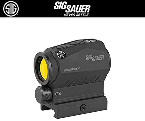 Sig Sauer SOR52101 Romeo5 2MOA Compact Red Dot Sight 1x20mm with Picatinny Mount