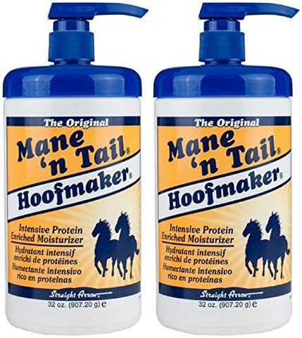Mane'n Tail Hoofmaker Hand & Nail Moisturizer Therapy 32 oz (Pack of 2)
