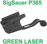 Sig Sauer LIMA365 Laser Sight, P365, Compact, Green, Black