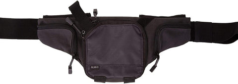 5.11 Tactical Select Carry Standard Pistol Pouch, Magazine Slots, Adjustable Strap, Charcoal, 1 SZ, Style 58604