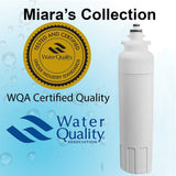 LG LT800 Refrigerator Water Filter Replacement By MIARA'S Collections