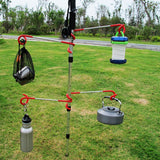 Outdoor Portable Hanging Arm-Multi Color