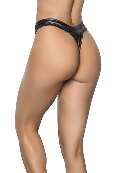 Mapale 1095 High Leg Thong