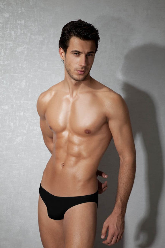Doreanse 1281-BLK Hang-loose Bikini Brief