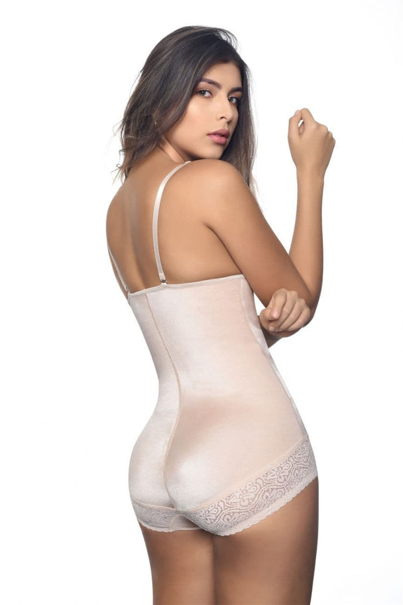 Vedette 134 Scarlett Strapless Shapewear Body w/ Lace Trim