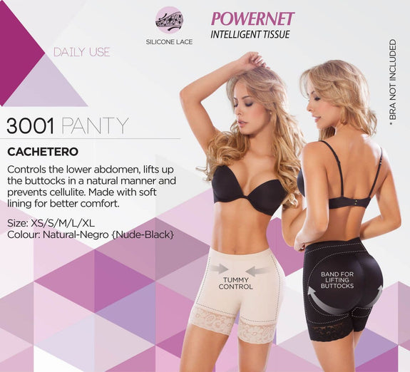 Moldeate 3001 Push Up Panty