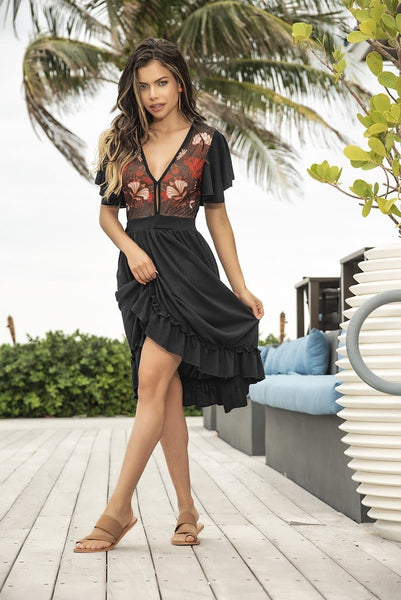Mapale 4648 Dress - SomethingTrendy.com