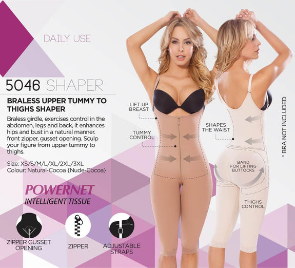 Moldeate 5046 Push UP and Tummy control Shapewear - SomethingTrendy.com
