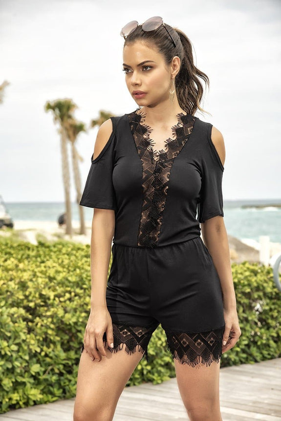 Mapale 5753 Romper - SomethingTrendy.com